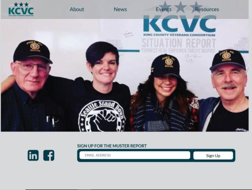 King County Veteran Consortium Redesign